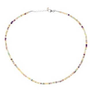 Gem Necklace Fluorite