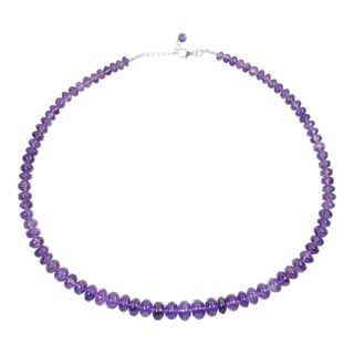 Gem Necklace Amethyst