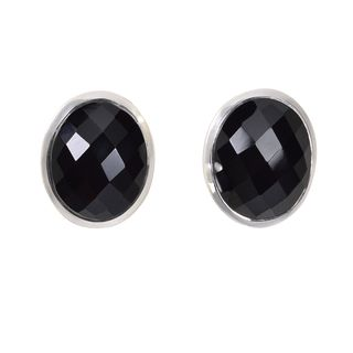 Earstud black Spinell