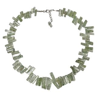 Gem Necklace green Disthen
