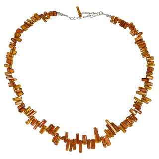 Gem Neklace orange Disthen