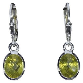 Earrings grossular