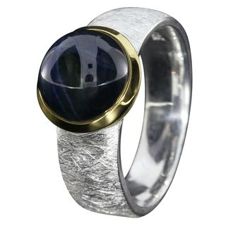 Ring Star sapphire