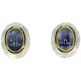 Earstud Sapphire¶-goldplated 5µ-