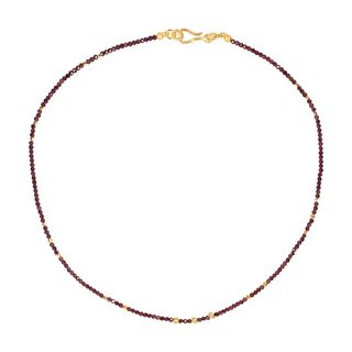 Gem Necklace Garnet