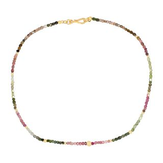 Gem Necklace Tourmaline