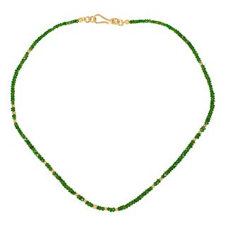 Gem Necklace Chromdiopsid