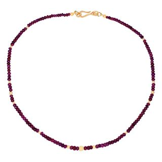 Gem Necklace Ruby